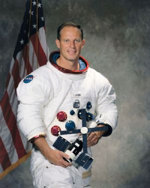 NASA Astronaut Jack Lousma Colour Portrait